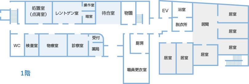 院内マップ1F