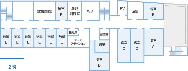 院内マップ2F