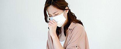 カゼ(急性上気道炎)咽頭痛、鼻水、咳など上気道炎症状